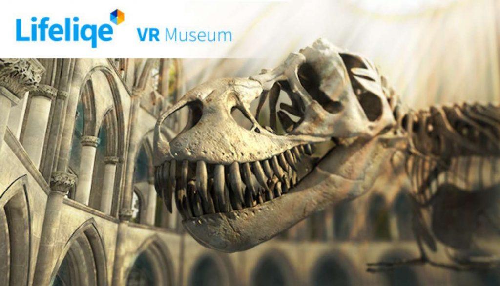 Lifeliqe VR Museum обложка